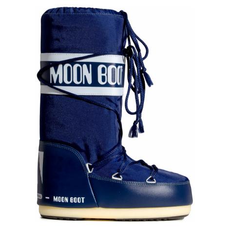 Sněhule Moon Boot NYLON tmavomodrá