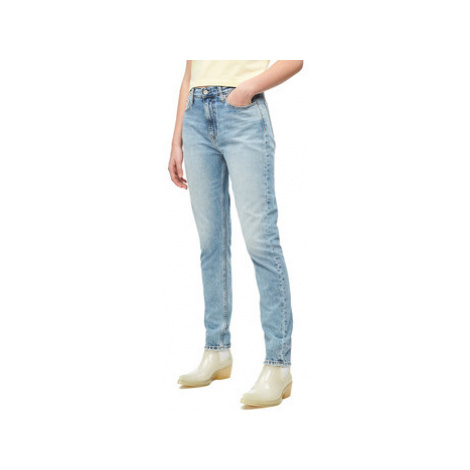 Calvin Klein Jeans J20J211394 Modrá