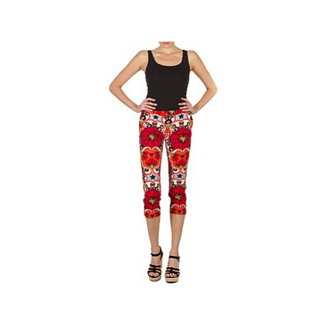 Manoush PANTALON POPPY Červená