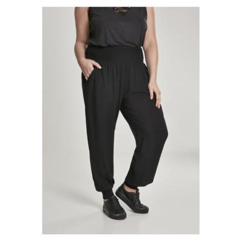 Kalhoty Urban Classics Ladies Sarong Pants - black