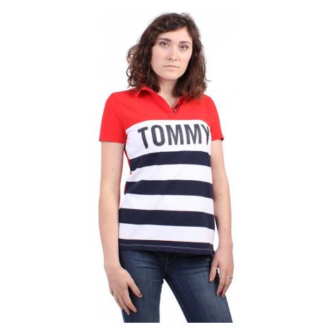 Tommy Hilfiger Tommy Hilfiger dámské vícebarevné polo tričko