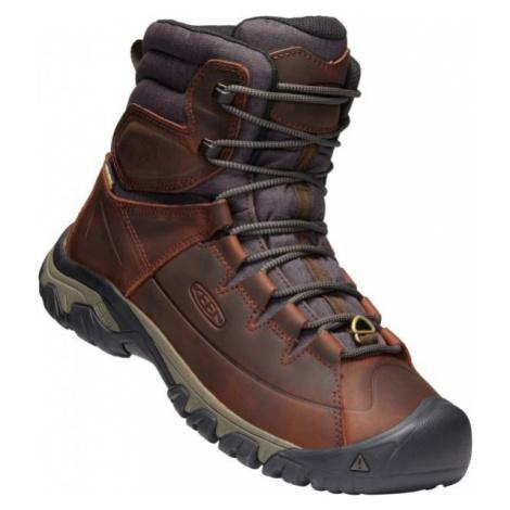 Keen TARGHEE LACE BOOT HIGH hnědá - Pánské zimní boty