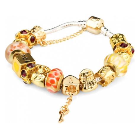 Linda's Jewelry Náramek s přívěsky Luxury Love INR007