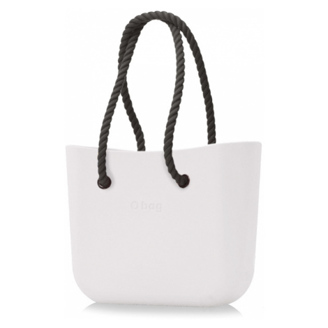 Kabelka obag milk s provazem černá O bag