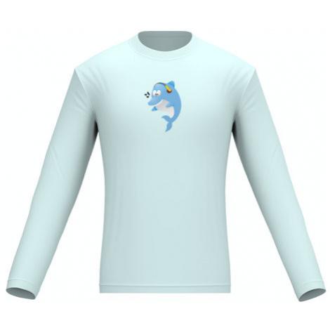Pánské tričko dlouhý rukáv Delfínek
