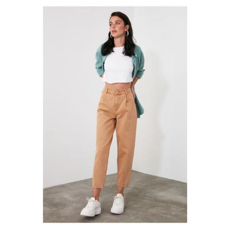 Dámské kalhoty Trendyol Mom jeans