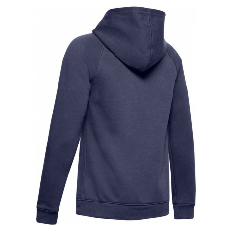 Under Armour Rival Logo Hoodie Chlapecká mikina 1325328-497 Blue Ink
