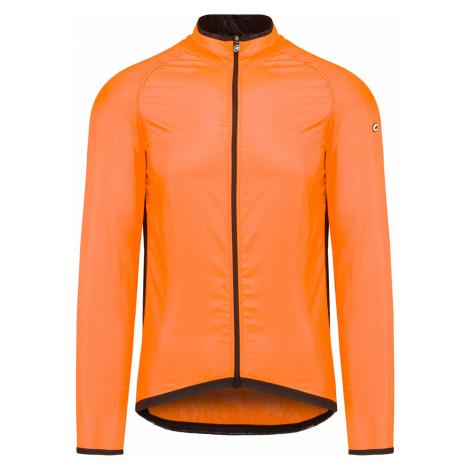 Cyklistická větrovka Assos MILLE GT WIND JACKET oranžová