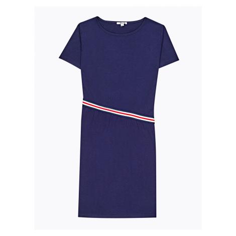 GATE Tričkové šaty s proužkem