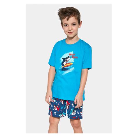 Chlapecké pyžamo Shark surf Cornette