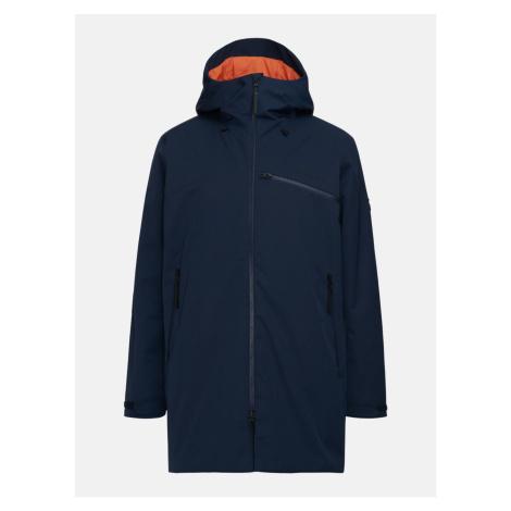 Kabát Peak Performance M Sapphire Parka - Modrá