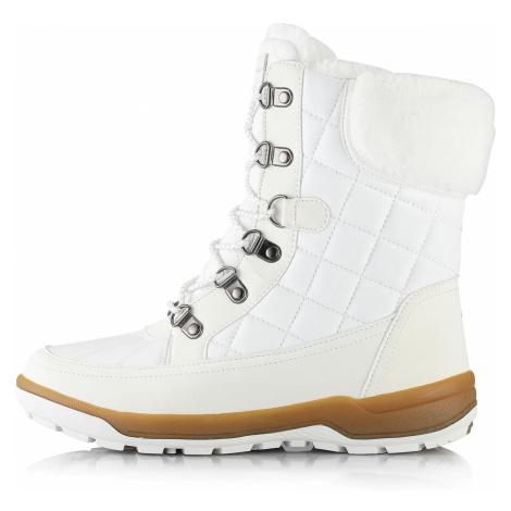 Dámská zimní obuv Alpine Pro GERAINA - bílá