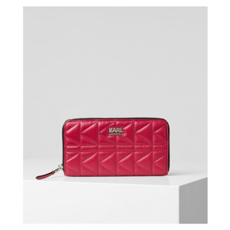 Peněženka Karl Lagerfeld K/Kuilted Zip Around Wallet