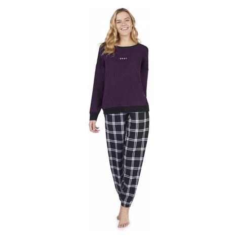 DKNY dámské pyžamo YI2819328F - Vícebarevné
