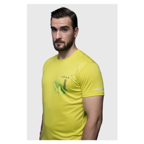 Žluté tričko LOAP Malty