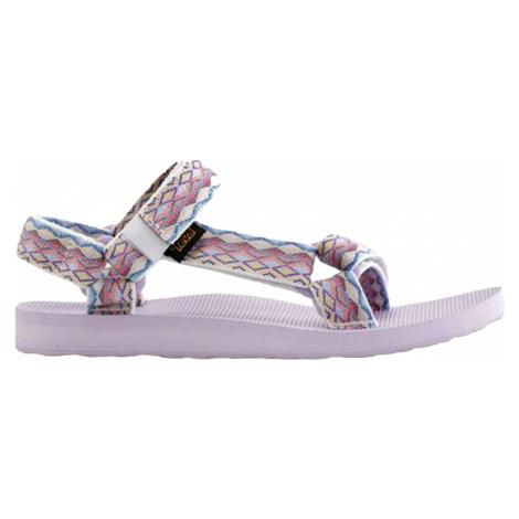Teva Original Universal L, bílá/modrá Dámské sandále Teva