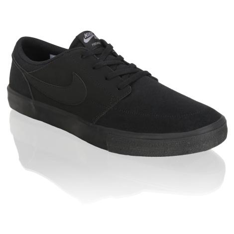 Nike Men's Nike SB Solarsoft Portmore II černá