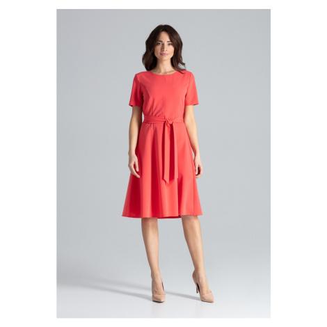 Lenitif Woman's Dress L043 Coral