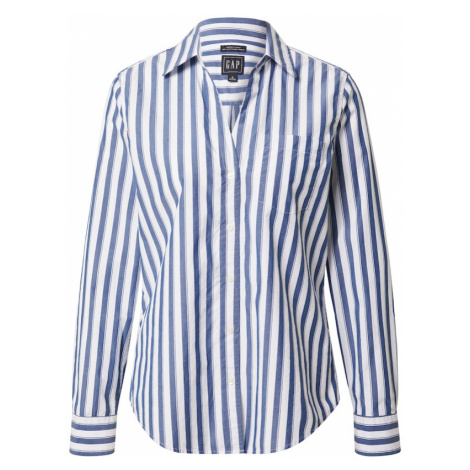 GAP Tričko 'Perfect' bílá / modrá