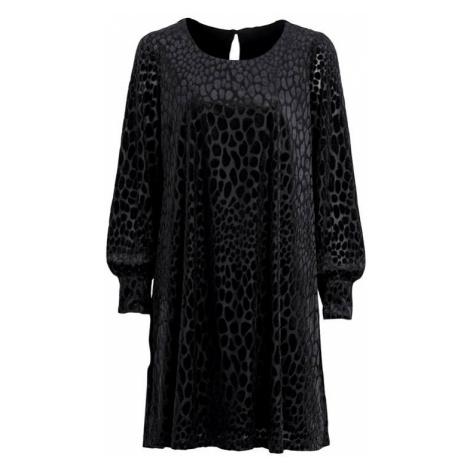 Šaty s plastickým vzorem