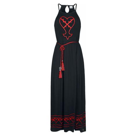 Kingdom Hearts Herzlose Šaty černá