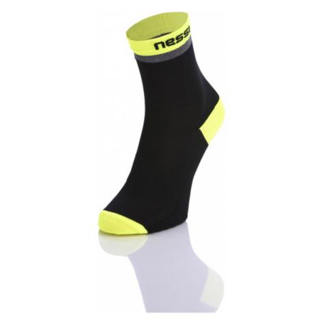 Nessi Vysoké Běžecké ponožky RSLO-9 - Černá