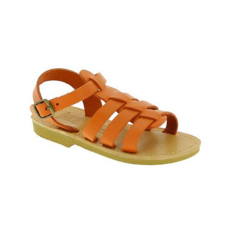 Attica Sandals PERSEPHONE CALF ORANGE Oranžová