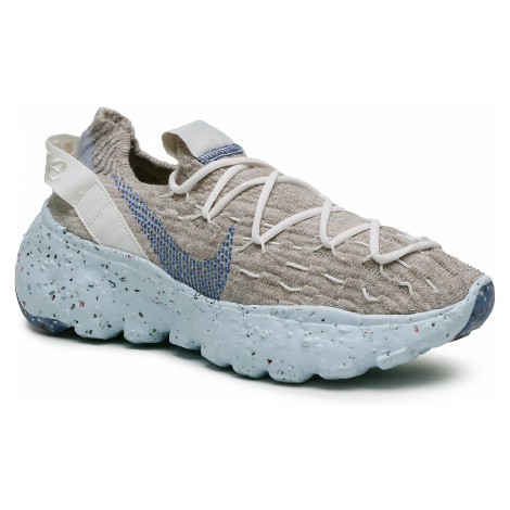 Boty NIKE - Space Hippie 04 CD3476 101 Sail/Astronomy Blue/Fossil