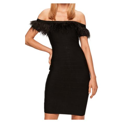 Černé šaty MARCIANO GUESS