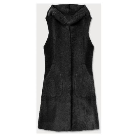 Černá dámská vesta (B3001) czarny S'WEST
