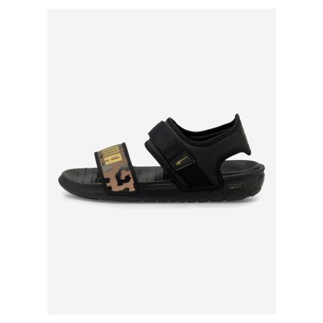 Softride Sandále Puma Černá