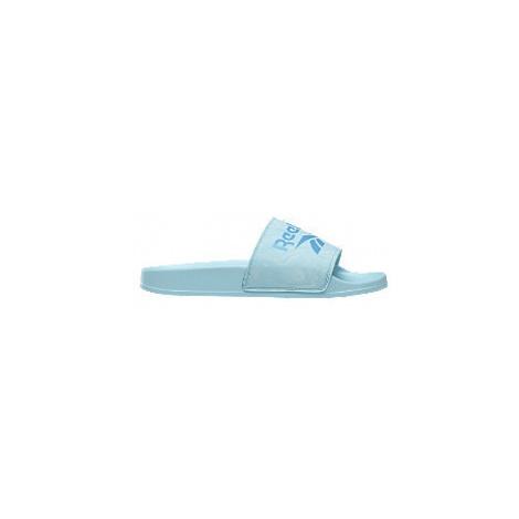 Modré pantofle Reebok