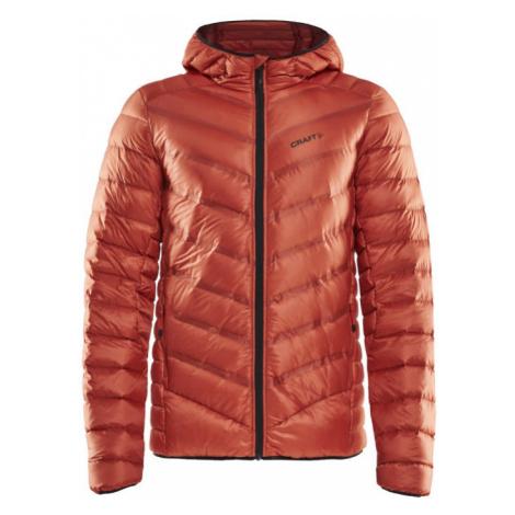 Pánská bunda CRAFT Lightweight Down oranžová