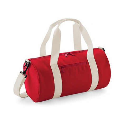 Barel taška miniBB - červená/bílá