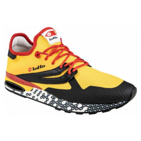 Lotto ATHLETICA RUN LIGHT žlutá - Pánská volnočasová obuv
