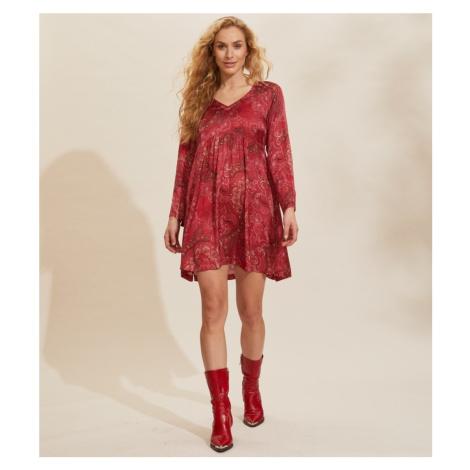 Šaty Odd Molly Amélie Dress - Červená