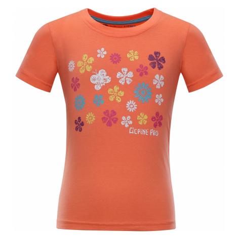Dětské triko Alpine Pro SILVA 4 - oranžová