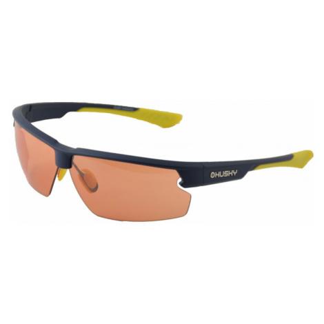 Sportovní brýle HUSKY Slamy modrá/žlutá