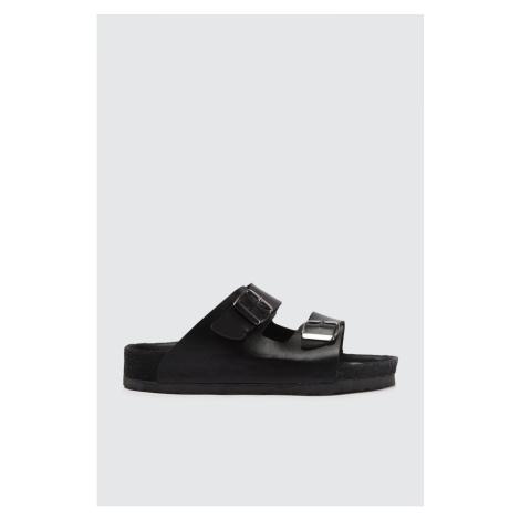 Trendyol Black Women's Slippers