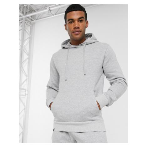 Le Breve co-ord overhead hoodie in grey