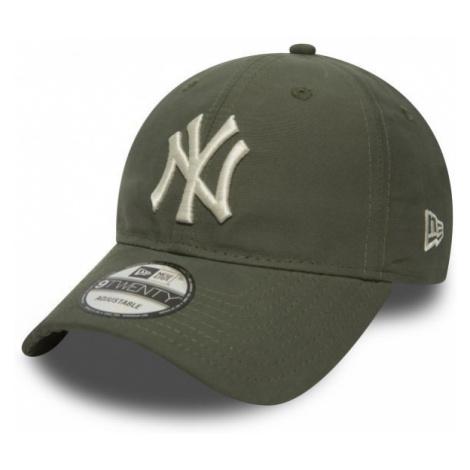 New Era NE 9TWENTY MLB NEW YORK YANKEES šedá - Pánské klubová kšiltovka
