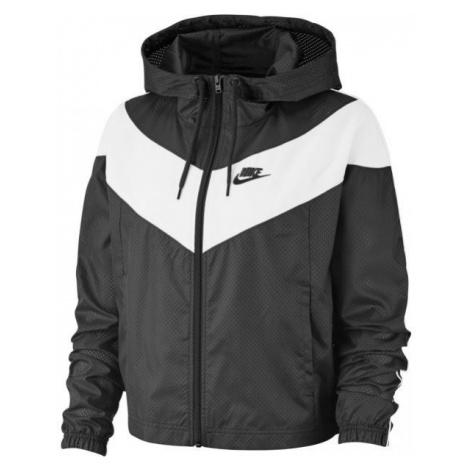 Nike NSW HRTG JKT WNDBRKR tmavě šedá - Dámská bunda