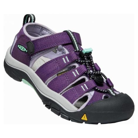 Dětské sandály Keen Newport H2 Youth purple pennant/lavender gray