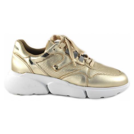 Tenisky La Martina Woman Shoes Laminate - Žlutá