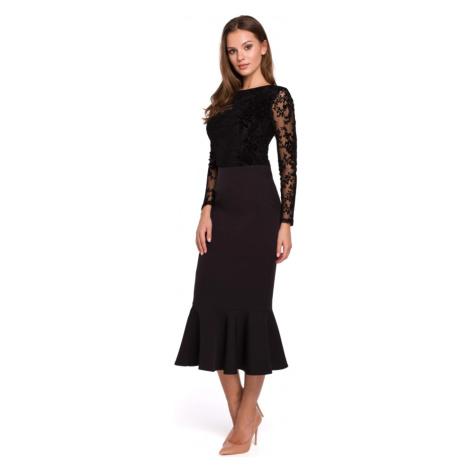 Tužková sukně s volánky MAKEOVER K025