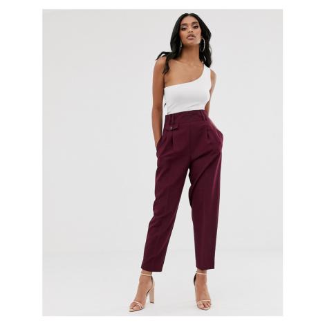 ASOS DESIGN tailored smart high waist balloon trousers