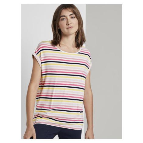 Tom Tailor dámské tričko s proužkem 1017095/21375