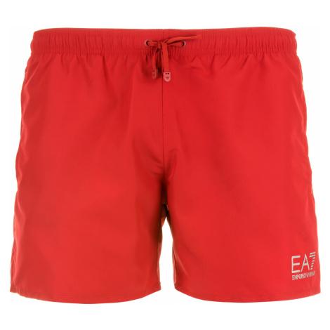 Pánské červené plavky Emporio Armani