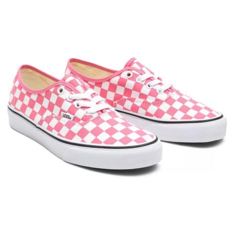Boty Vans Authentic checkerboard pink lemonade/true white