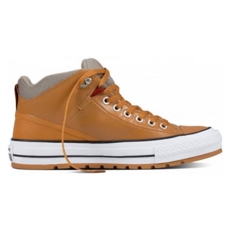 Converse CHUCK TAYLOR ALL STAR STREET BOOT hnědá - Pánské kotníkové tenisky